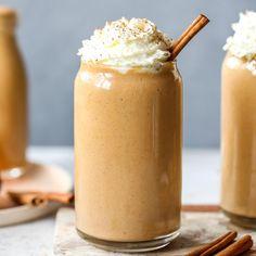 Best Pumpkin Pie, Healthy Pumpkin Pies, Pumpkin Recipes, Fall Recipes, Pumpkin Spice, Easy Smoothies, Smoothie Drinks, Smoothie Recipes Yogurt, Smoothies With Yogurt