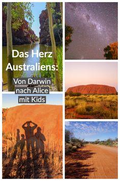 Unsere Empfehlungen für die Fahrt ins Zentrum Australiens Alice Springs, Darwin, Movies, Movie Posters, Traveling With Children, Centre, Australia, Film Poster, Films