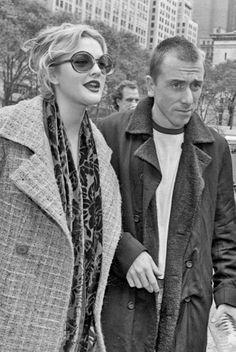 Drew Barrymore & Tim Roth
