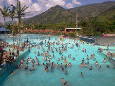 Water park outside of Medellin