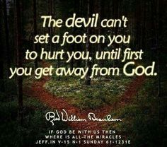 If God be with us