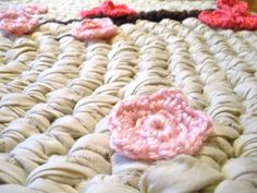 Upcycled Crochet Rug: Free Pattern