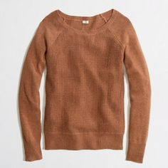 """Selling this """"WARMSPUN WAFFLE CREWNECK SWEATER in Heather acorn"""" in my Poshmark closet! My username is: ncsnellings. #shopmycloset #poshmark #fashion #shopping #style #forsale #J. Crew #Sweaters Shop my closet on @Poshmark - free iPhone App. $5 Credit with code: HNBGP #shopmycloset #style #fashion #poshmark #shopping #listings #covershot #poshmarkapp #parties #poshparties #showrooms #iphone #instastyle"""