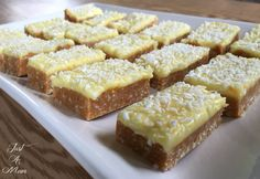 You'll love to make this No Bake Citrus & Coconut Slice. It uses just a handful of ingredients and is ready in no time. Be sure to check out the NO Bake Lemon Coconut Slice as well!
