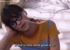 """If this is love, what good is it?"" - Anna Karina in Pierre Koralnik's ""Anna"", Citations Film, French New Wave, Haha, Velma Dinkley, Def Not, Cinema, Movie Lines, This Is Love, Catherine Deneuve"