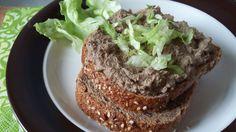 Fűszeres házi májkrém diétázóknak is! Brunch Outfit, Tea Sandwiches, Vegetable Salad, Sandwich Recipes, Guacamole, Baked Potato, French Toast, Paleo, Beef