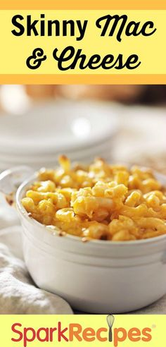 Butternut squash helps slim down this macaroni and cheese. You can't taste it, and it boosts the nutritional value of the dish!  via @SparkPeople