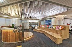 TNS Global office by Studiokon Ventures Gurgaon  India