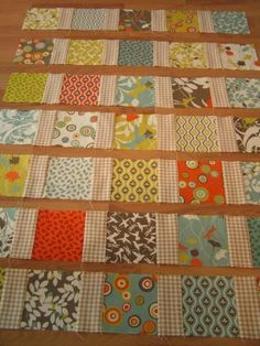 Great tutorial for sashing!!! Just what I've been looking for! Use for Mendocino quilt. YAY!