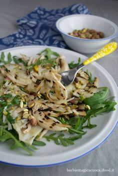 Raw Food Recipes, Meat Recipes, Healthy Recipes, Italian Dishes, Italian Recipes, Greens Recipe, Food Humor, Vegetable Salad, Fett
