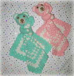 Large Teddy Lovey Crochet Pattern