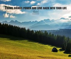 Travel Brings power and love back into your life. - Rumi  #MyTravelBox   take you where ever you desire to go.   Visit - www.mytravelbox.in  #chandigarh #Mohali #Panchkula #MTB #travel #tour #hotel #hotels #flight #quotes