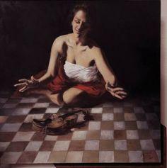 "Painting, ""The angels . Violin Painting, Violin Art, 2 In, Oil On Canvas, Saatchi Art, Artworks, Original Paintings, Angels, Artist"