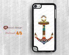 IPod case anchor  ipod 4 case  ipod  5 case  ipod  by Atwoodting