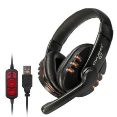 OVLENG Q7 USB Gaming Headset Headband Headphone With Mic And Volume Control For Computer Laptop PC
