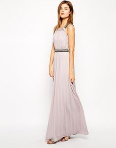 Coast Maxina Maxi Dress with Embellishment