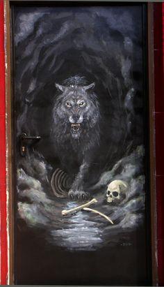 Fenris the wolf from Norse mythology!