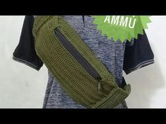 CROCHET || Merajut Fanny Pack - Crochet Fanny Pack Part 2 - YouTube