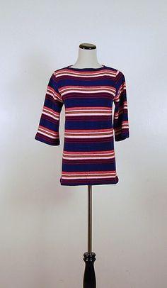 70s Nautical Shirt by CheekyVintageCloset on Etsy, $14.50