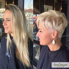 von lang auf kurze haare
