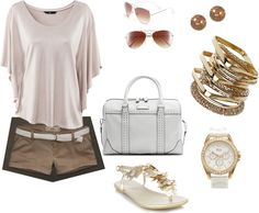 beautiful bronze, created by mjames523 on Polyvore