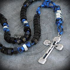 Hex Nut Paracord Rosary