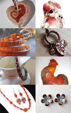 Red for February 14 by Dix Cutler on Etsy--Pinned with TreasuryPin.com