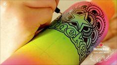 work for heineken by Luna Portnoi My Love, Bottle, Celebrities, Inspiration, Designers, Illustrations, Art, Heineken, Biblical Inspiration