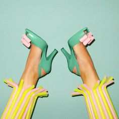 Straw - Pailles - Chaussures - Shoes - Pop