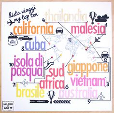 Lista Viaggi - LO by sara.dafne, via Flickr