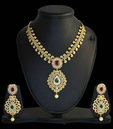 Buy multicolor necklace set necklace-set online