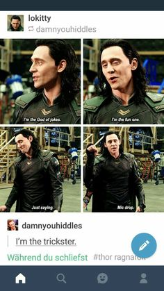 Tom Hiddleston on how Loki is the best Norse god