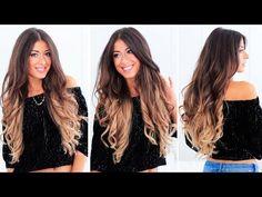 Hot Roller Waves | Luxy Hair - YouTube