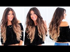 Hot Roller Waves   Luxy Hair - YouTube