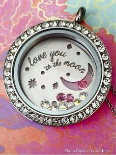 Love you to the moon and back. Origami Owl Valentines Collection 2015