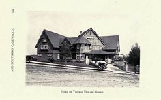 Greater Los Angeles 1906 - 2272 S Harvard Blvd - Thomas E Gibbon (Demolished)