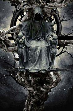 Dark art for our inner demons: Photo Grim Reaper Art, Don't Fear The Reaper, Foto Fantasy, Dark Fantasy Art, Fantasy Artwork, Gothic Artwork, Dark Gothic Art, Dark Art, Angels And Demons