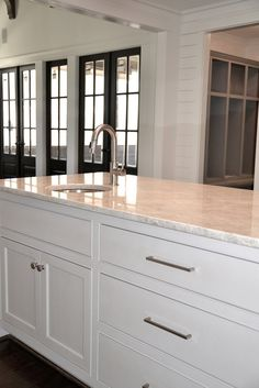Mother Of Pearl Quartzite Countertops   Design Photos, Ideas And  Inspiration. Amazing Gallery Of Interior Design And Decorating Ideas Of  Mother Of Pearl ...