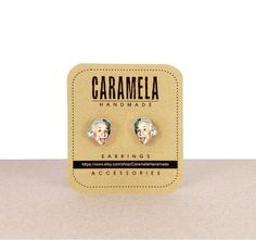 These Einstein earrings because why not? | 33 Gifts For The Loveable Science Geek In Your Life