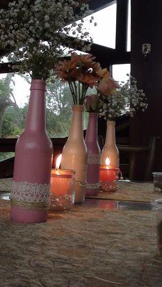 festa no campo - mesas de convidados
