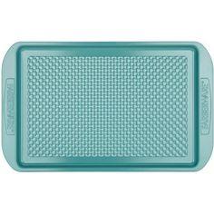 "Farberware purECOok Hybrid Ceramic Nonstick Bakeware Baking Sheet and Cookie Pan, 10"" x 15"", Lavender - Walmart.com"