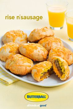 Mornings are made right when you're eating Butterball Turkey Breakfast Sausage. These breakfast bea Turkey Breakfast Sausage, Homemade Breakfast Sausage, Sausage And Egg, Breakfast Recipes, Homemade Turkey Sausage, Butterball Turkey, Food To Make, Brunch, Cooking Recipes