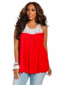 33d666d901f Crochet top. Beth Rowles · Plus size fashion ...