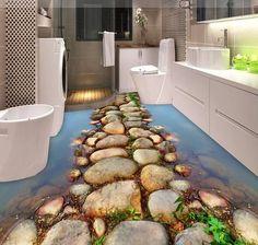 koi floor 3D Bathroom Floor                                                                                                                                                                                 More