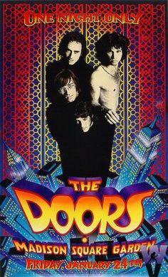 The Doors - Jim Morrison - Concert poster Rock Posters, Band Posters, Music Posters, Concert Rock, Digital Foto, The Doors Jim Morrison, Vintage Concert Posters, Poster Vintage, Poster Art