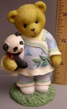 Cherished Teddies Bear with Panda