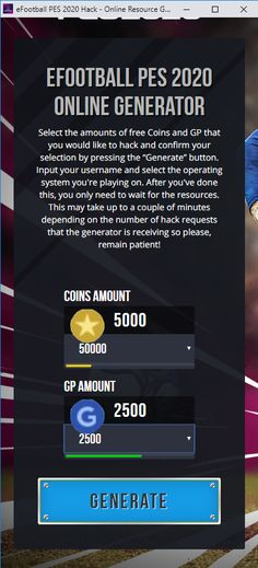 New eFootball PES 2020 hack is finally here and its working on both iOS and Android platforms. This generator is free and its really easy to use! App Hack, Game Resources, Game Update, Android Hacks, Test Card, Xbox Games, Hack Online, Mobile Game, Free Games