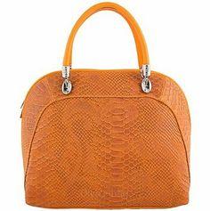 Galian Snakeskin Python Print Handbag Faux Leather Trapeze Fashion ...
