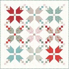 For the past few years, I've been meaning to make all 3 of my kids Christmas quilts. I've kept my copy of the free Figgy Pudding quilt pattern by Lella Boutique close at hand, always with the best intentions to get started.But time. Ti...