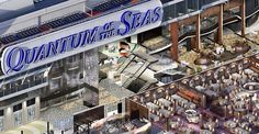 Quantum of the seas Royal Promenade